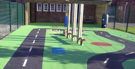 Artificial Surface Amp Playground Equipment Supply Post
